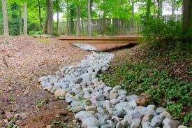 backyard drainage ditch design backyard landscaping photo gallery