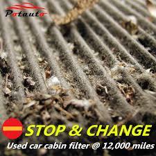 lexus ls 460 air conditioner filter amazon com potauto map 1008c heavy activated carbon car cabin air