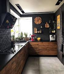 black kitchen cabinets with walls 26 bold black and yellow kitchen designs digsdigs