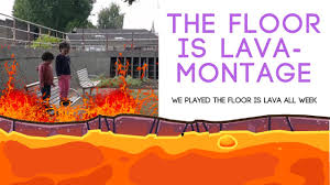 Challenge Montage The Floor Is Lava Challenge Montage We Took The Challenge And