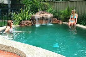 poolside furniture ideas poolside furniture ideas inground swimming pool waterfalls bing