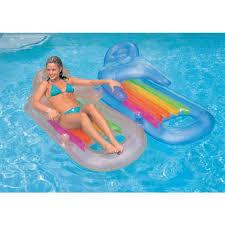 siege de piscine gonflable fauteuil appuie tete gonflable piscine intex blanc achat vente