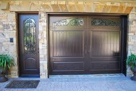 jen weld garage doors matching single garage door u0026 side door finished in weathered