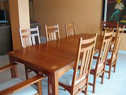 inlaid dining table and chairs stickley harvey ellis 11 piece dining set w inlay table 2 arm chair