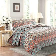 twin paisley bedding amazon com dada bedding bohemian floral paisley garden party