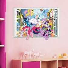 My Little Pony Bedroom Pony Wall Stickers Love My Pony Decorative Stick Ons Walls Murals