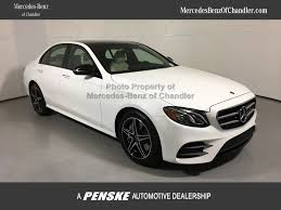 2018 new mercedes benz e class e300w 4dsd at mercedes benz of