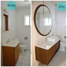 Bathroom Before And After by Mid Century Modern Bathroom Vanity Also Cretive 2017 Images Before