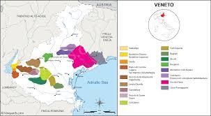 Italy Wine Regions Map Veneto Map Of Vineyards Wine Regions