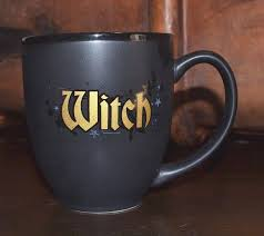wizardingworld of harrypotter witch coffee mug cup new