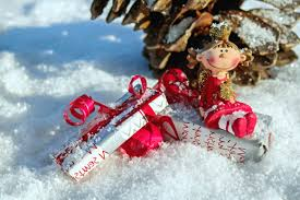 free picture snow winter winter new year gift