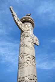 tian anmen ornamental columns stock photo image 38856630