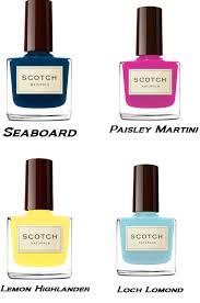 colors of summer island of burano themed natural nail polish
