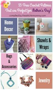 crochet home decor free patterns 25 free crochet patterns that are perfect for mother u0027s day the