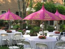 interior design interesting party decoration ideas with garden
