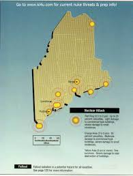 Map Portland Maine by Nuclear War Fallout Shelter Survival Info For Maine With Fema