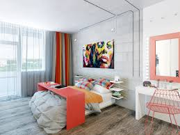 two cheerful apartments with creative storage and splashes of color like architecture interior design follow us