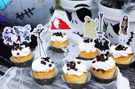 the nightmare before christmas cupcake toppers disney family