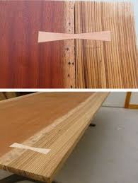 Slab Wood Table by Bar Rod Shaft Stick Tree Section Wood Section Table Wood