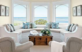 Decorating Stunning Interior Design Ideas Bay Window With Beach - Chic interior design ideas