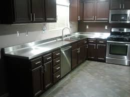 countertops stainless stainless steel countertops and undermount