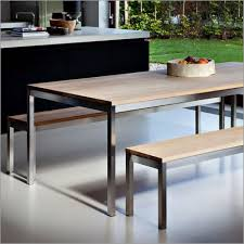 Best  Stainless Steel Dining Table Ideas On Pinterest - Stainless steel kitchen tables