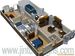 3d layout plan rendering3d floor plans for 3 bedroom houses new