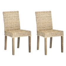 Safavieh Dining Chair 48 Wicker Dining Room Chairs Pier One Impressive Yellow Rattan