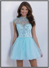 Light Blue High Low Dress Light Blue High Low Prom Dresses 2016 2017 B2b Fashion