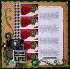 8 ways handmade cards can give you ideas for scrapbook pages