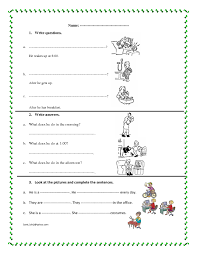 My Family Writing Practice Lesson Plan Education 330 Free And Professions Worksheets