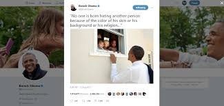 obama charlottesville tweet one of the most liked ever wkyc com
