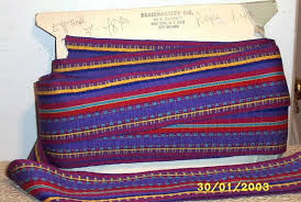 woven ribbon wide mexican fancy stripe combed cotton woven ribbon trim 3 wide
