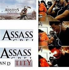 Assasins Creed Memes - assassins creed identity an d tity assassin s creed meme on me me