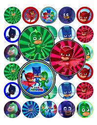 bottle cap necklaces pj masks party favors bottle cap necklaces whyrll com