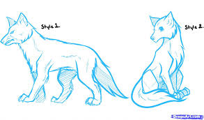 tag anime wolf sketches drawing sketch library