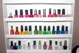 diy nail polish racks u0027vanessa jhoy blog