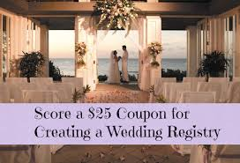 kohl wedding registry free 25 kohl s coupon for creating wedding registry free bridal
