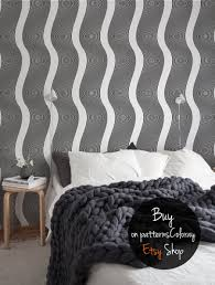 op art wallpaper black and white optical illusion wall