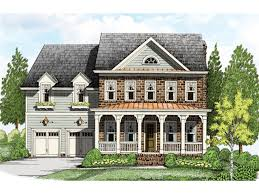 Brick Colonial House Plans Beautiful Front Porch Hwbdo76051 Colonial From Builderhouseplans Com
