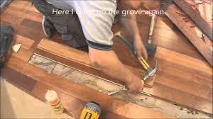 hardwood floor repair restoration before refinishing how to