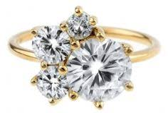custom cluster v shaped ring bario neal custom heirloom diamond cluster ring by bario neal