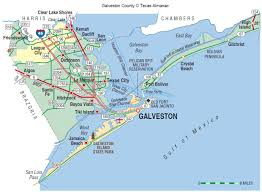 Map Of The State Of Texas Galveston County The Handbook Of Texas Online Texas State