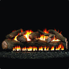 peterson real fyre 60 inch mammoth pine gas log set with vented
