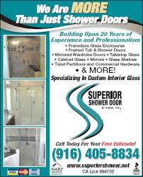 superior shower door u0026 more inc elk grove ca 95624 yp com