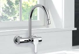 wall mounted kitchen faucet wall mounted kitchen faucets or delta wall mount kitchen faucet 41