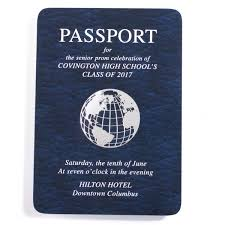 passport prom invitation prom nite