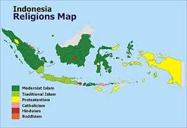 united states of islam map 2016 islam in indonesia