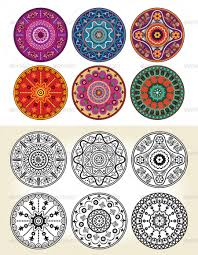 Indian Style - indian style floral ornament by rizado graphicriver