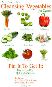 my favorite cleansing vegetables for cycle 1 pin it to get it